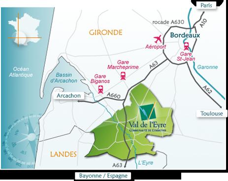 carte-localisation CDC