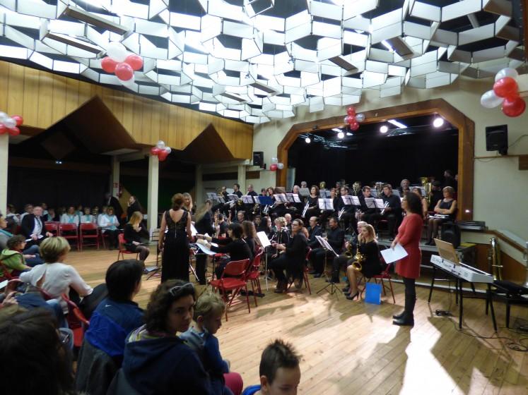 Veillée de Noël organisée par l'école de musique