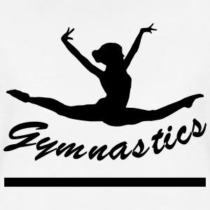 gymnaste-gymnastique-t-shirt-premium-femme