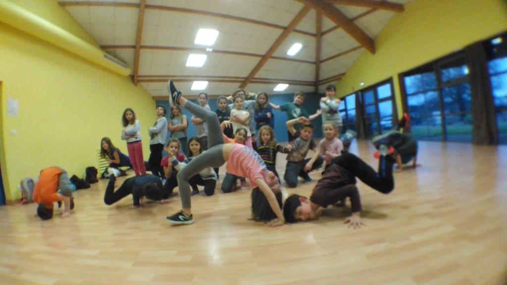 STAGE DE BREAK DANCE